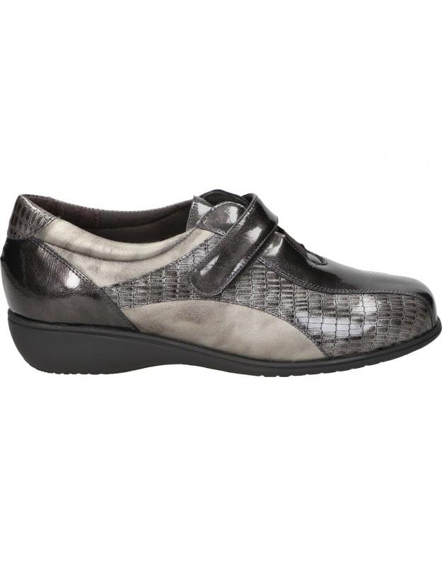 Zapatos doctor cutillas 53551 gris para señora