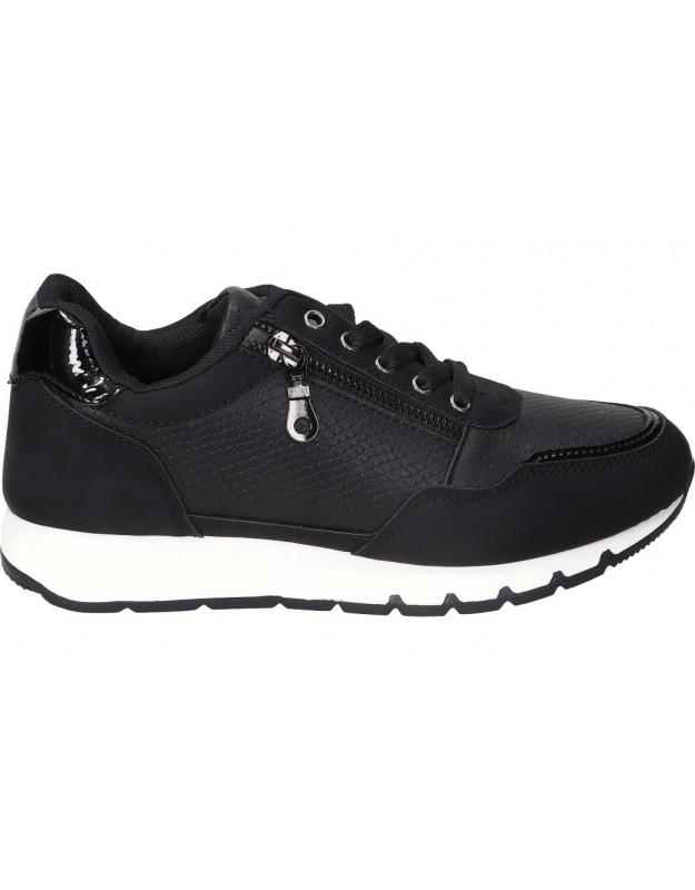 Zapatos casual de moda joven deity yjl20081 color negro