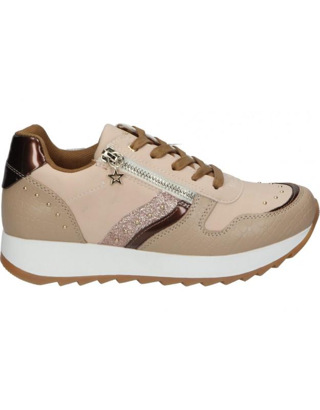 Zapatos chk10 new rosa 21 beige para niña