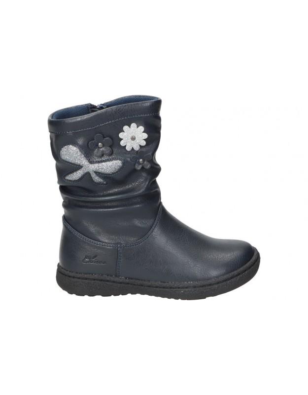 Chicco azul coletta botas para niña