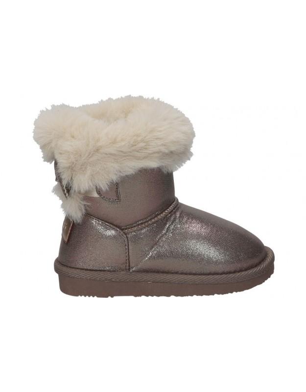Conguitos taupe lis140 81 botas para niña