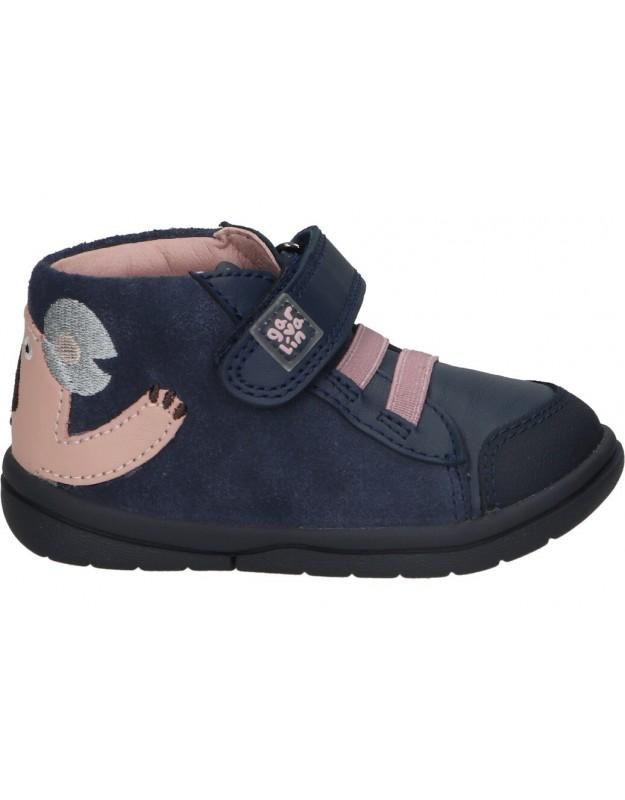 Zapatos garvalin 211604 b azul para niña