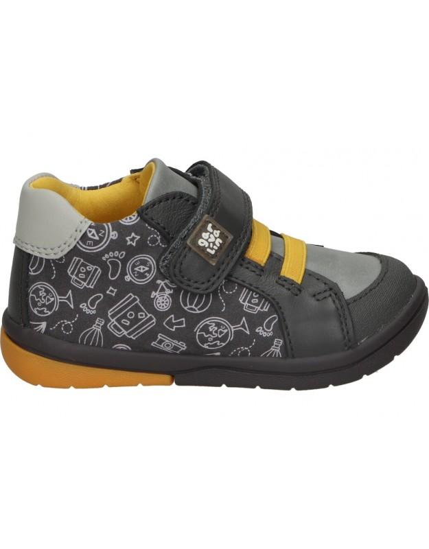 Zapatos para niño planos garvalin 211603 b en gris