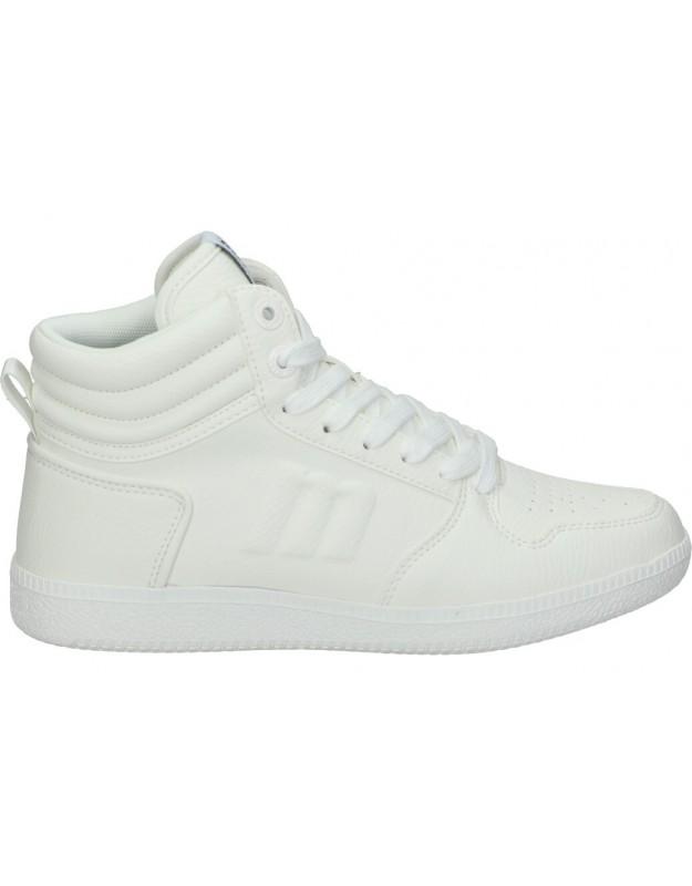 Deportivas para moda joven mtng 60162 blanco