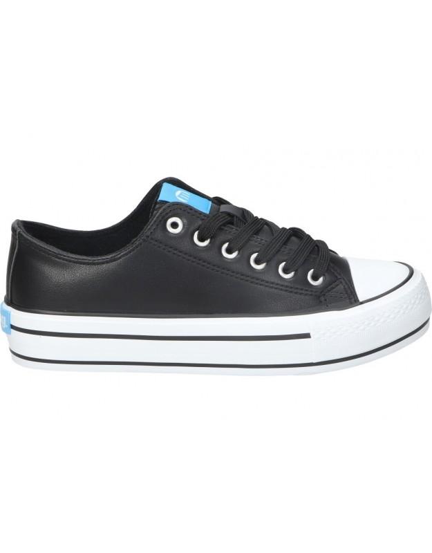 Deportivas para moda joven planos mtng 60173 en negro