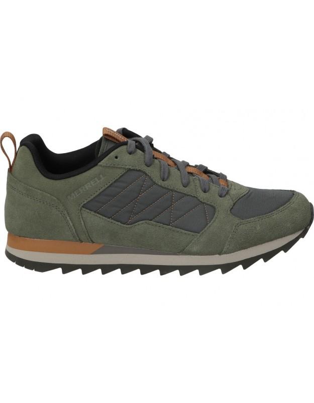 Zapatos sport de caballero merrell j003383 color verde