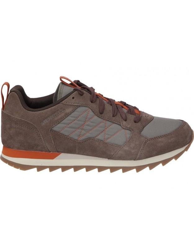 Zapatos para caballero merrell j003511 marron