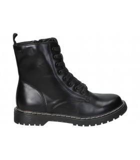 Deportivas casual color negro de skechers 104008-bkhp