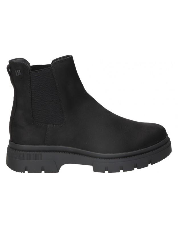 Botines color negro de casual mtng 51844