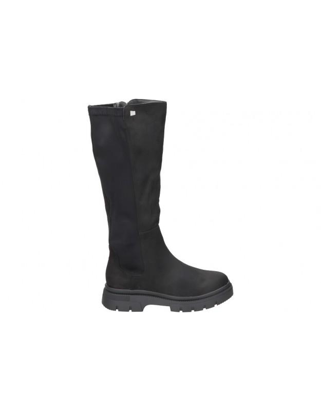 Botas casual de moda joven mtng 51984 color negro