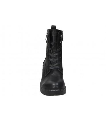 Zapatos casual de caballero skechers 52937-bbk color negro