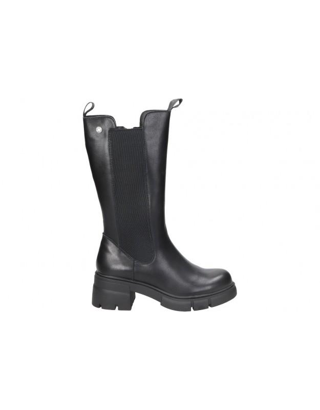 Botas casual de moda joven refresh 76274 color negro