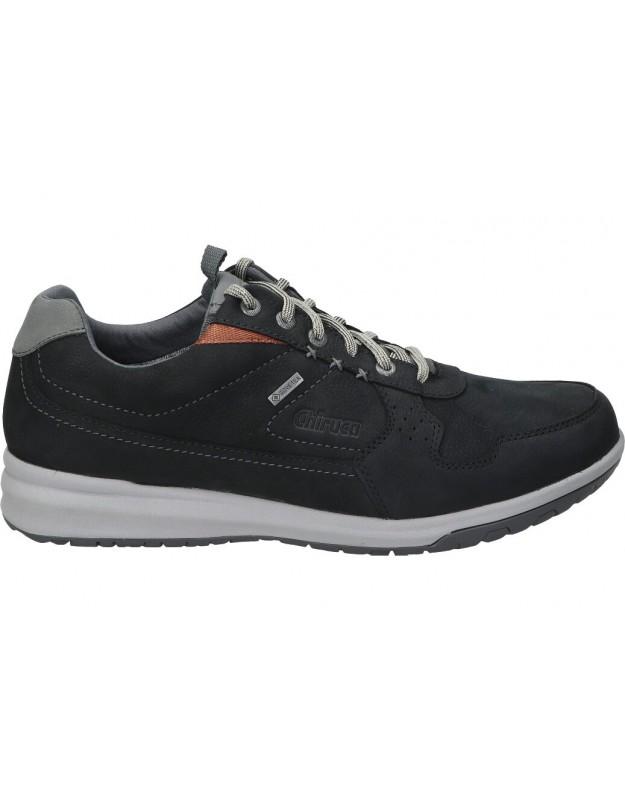 Zapatos sport de caballero chiruca metropolitan 03 color negro