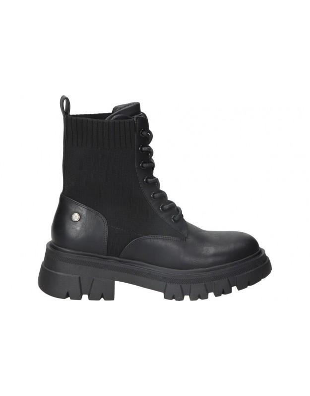 Botines para moda joven xti 42964 negro