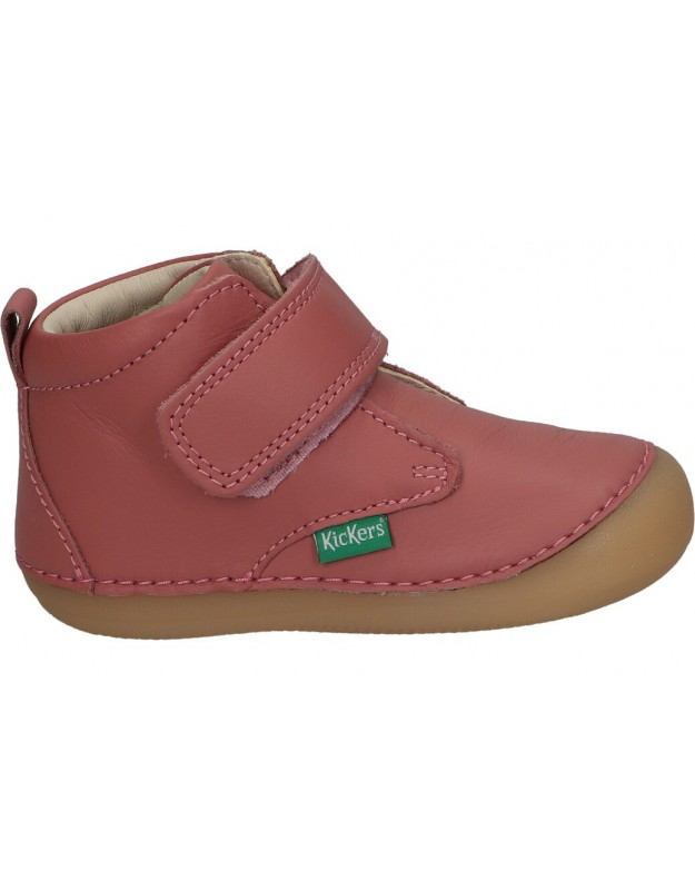 Zapatos casual de niña kickers 584348-10 color rosa
