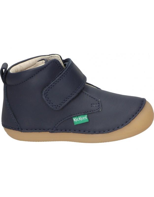 Zapatos para niño kickers 584348-10 azul