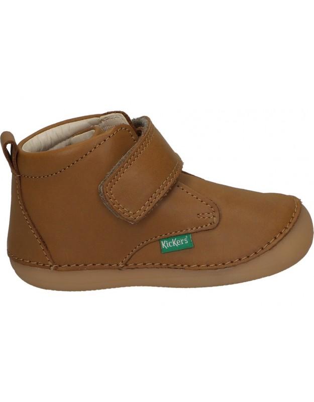 Kickers camel 739058-10 zapatos para niño