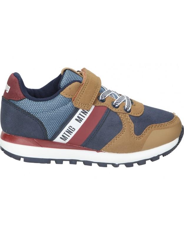 Zapatos casual de niño mtng 48160 color camel
