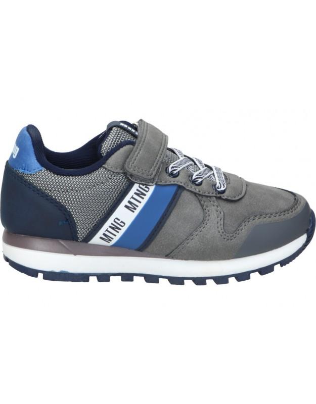 Zapatos para niño planos mtng 48160 en gris