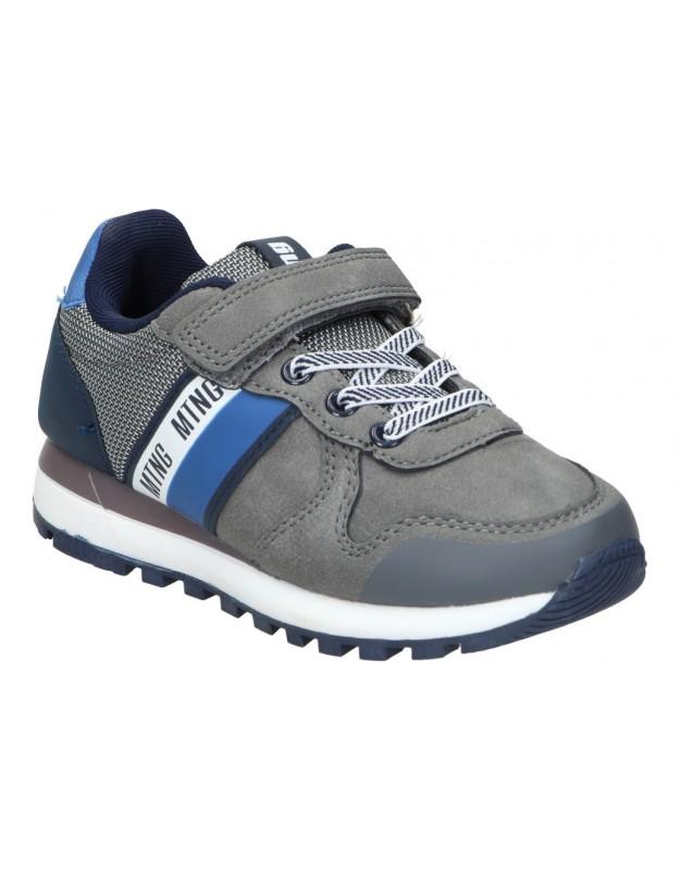 Zapatos color azul de casual skechers 51893-nvlm