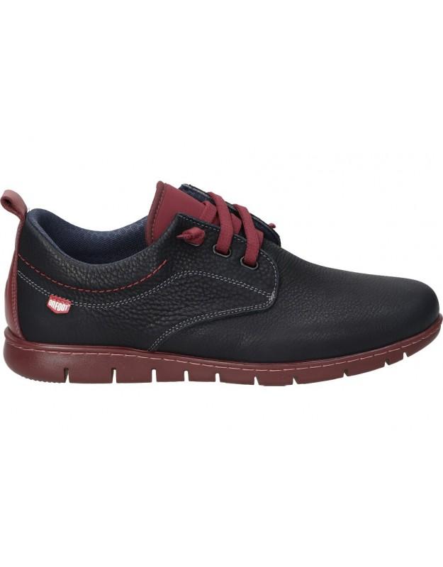 Zapatos color marino de casual on foot 8551