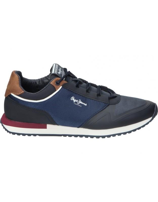 Zapatos para caballero planos pepe jeans pms30775 en marino