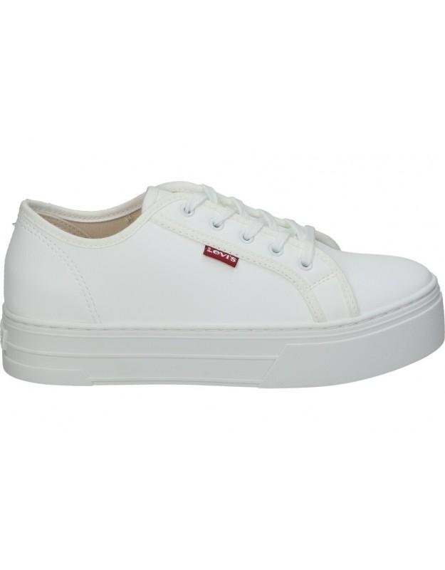 Deportivas levi´s tijuana blanco para moda joven