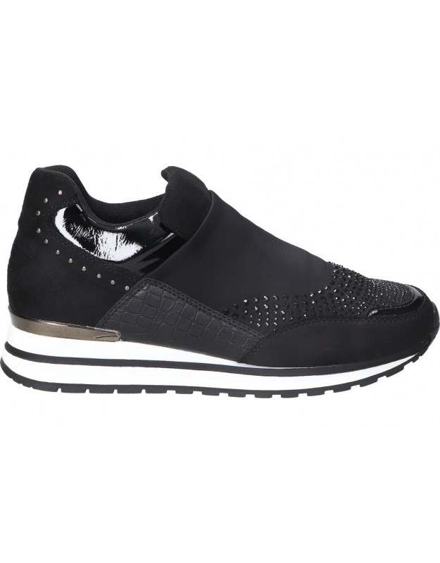 Zapatos color negro de casual fun house f2021024-b1
