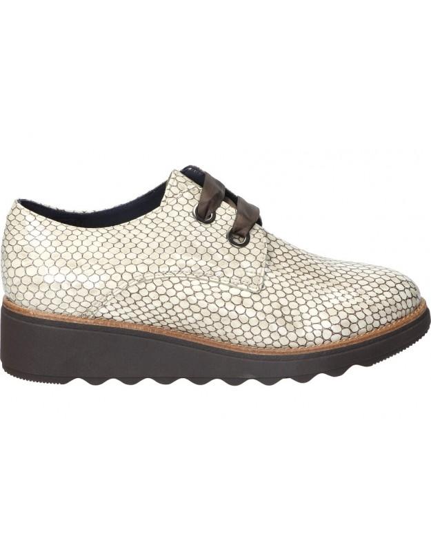 Zapatos nature 4375 blanco para señora