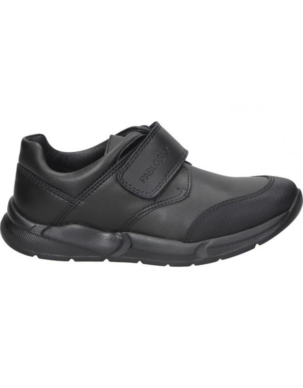 Zapatos para niño planos pablosky 720315 en negro