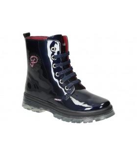 Zapatos para moda joven planos top3 21546 en negro
