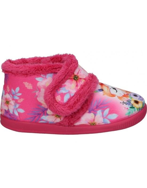 Vulca-bicha rosa 1081 z. de casa para niña