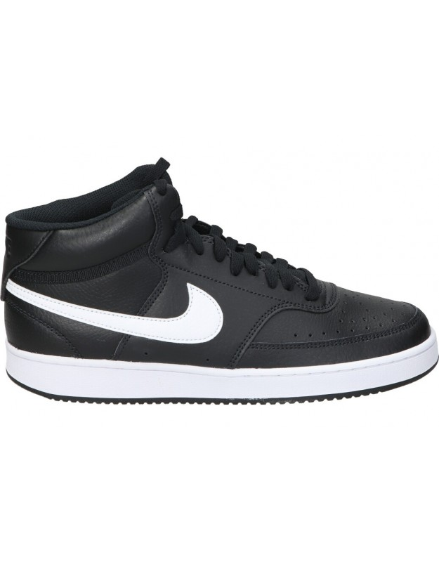 Deportivas color negro casual Nike Court Vision Mid cd5466-001