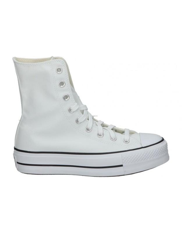 Zapatillas Converse Extra High Platform Chuck Taylor All Star High Top 170051c-102 Blanco