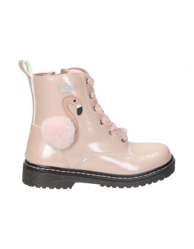 Botas xti 57835 rosa para niña