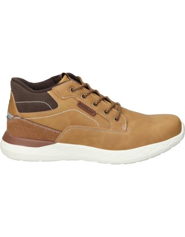 Botas casual de caballero dunlop 35612 color marron