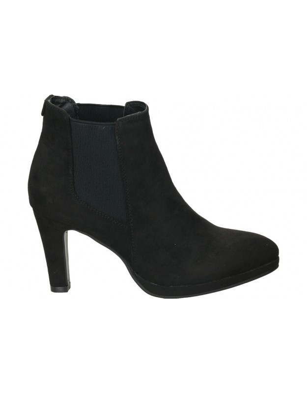 Botines casual de señora stay 83-159 color negro