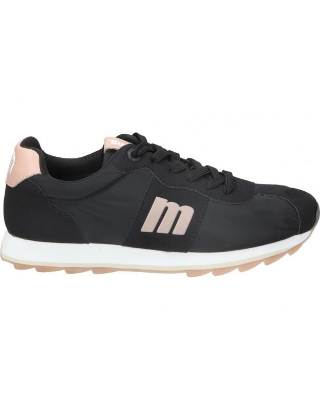 Deportivas para moda joven planos MTNG 60099* en negro