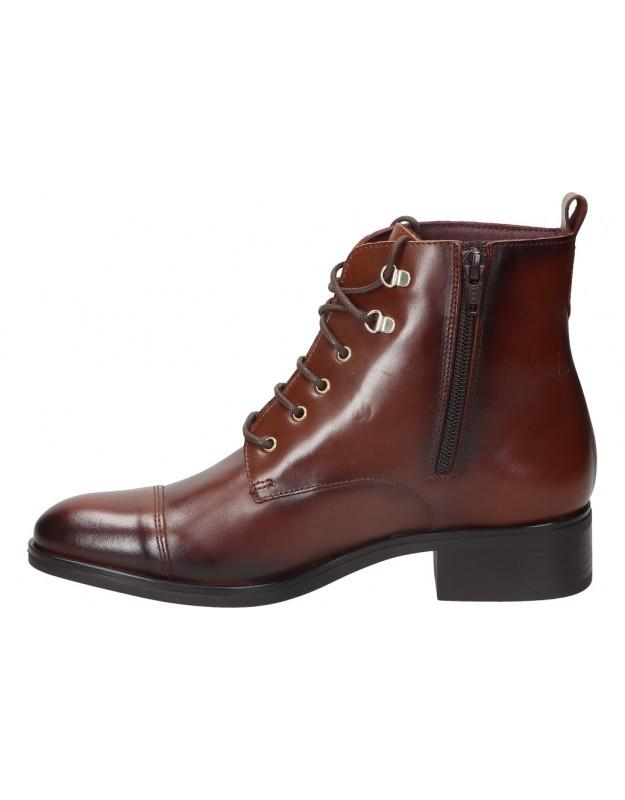 Zapatos color camel de casual fluchos f1181
