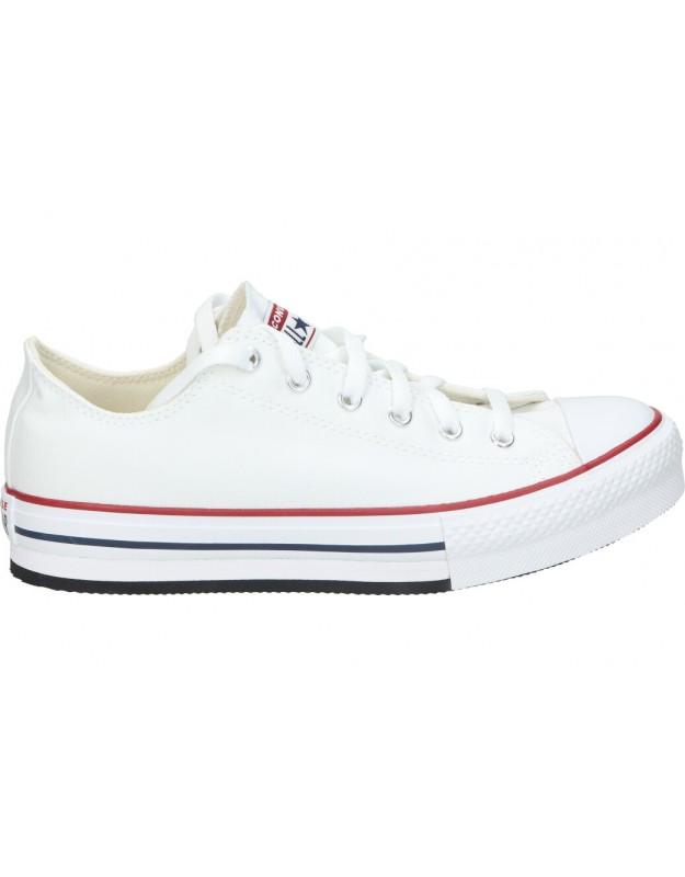 Lonas converse 670893c-102 blanco para moda joven