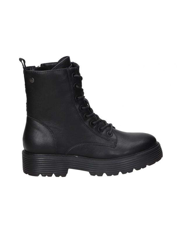 Botines xti 43196 negro para moda joven