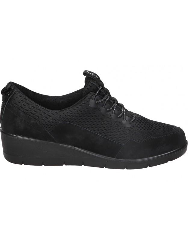 Zapatos shoewear 21m500 negro para señora