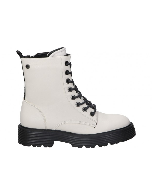 Botines not assigned de moda joven xti 43196 color blanco