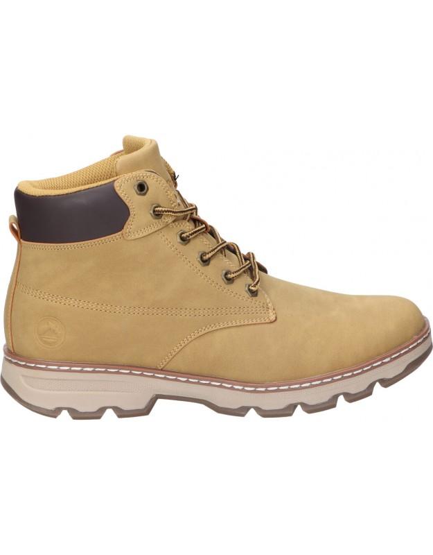 Botas casual de caballero jhayber za52355-57 color marron