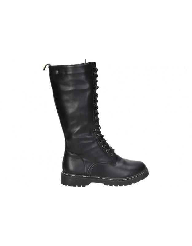 Botas para moda joven isteria 21209 negro