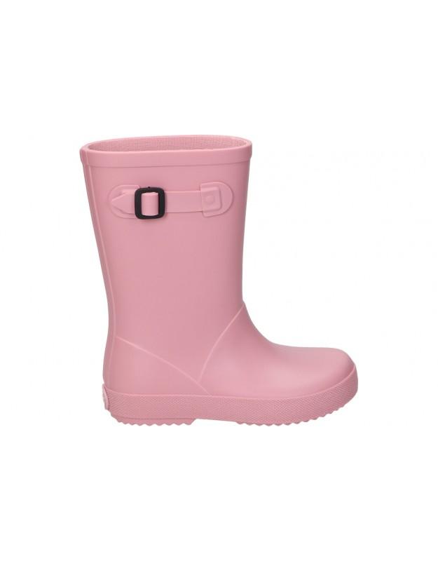 Botas de agua igor splash mc rosa para niña