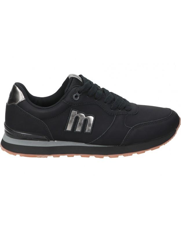Deportivas MTNG 69711 negro para moda joven