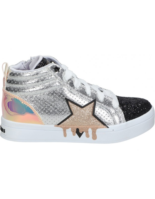 Skechers plata 310033l-smlt botas para niña