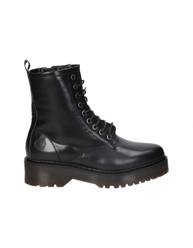 Botines para moda joven c. tapioca c1046-51 negro