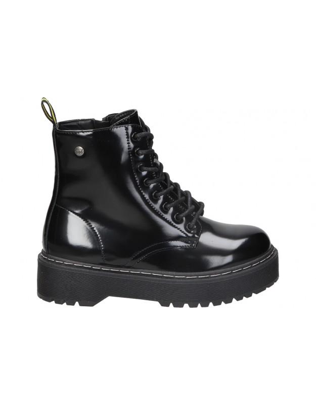 Botines para moda joven isteria 21200 negro